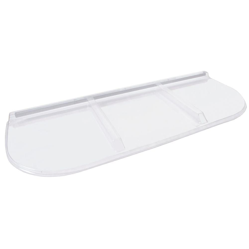 Shape Products 65 in. x 26 in. Polycarbonate U-Shape Window Well Cover