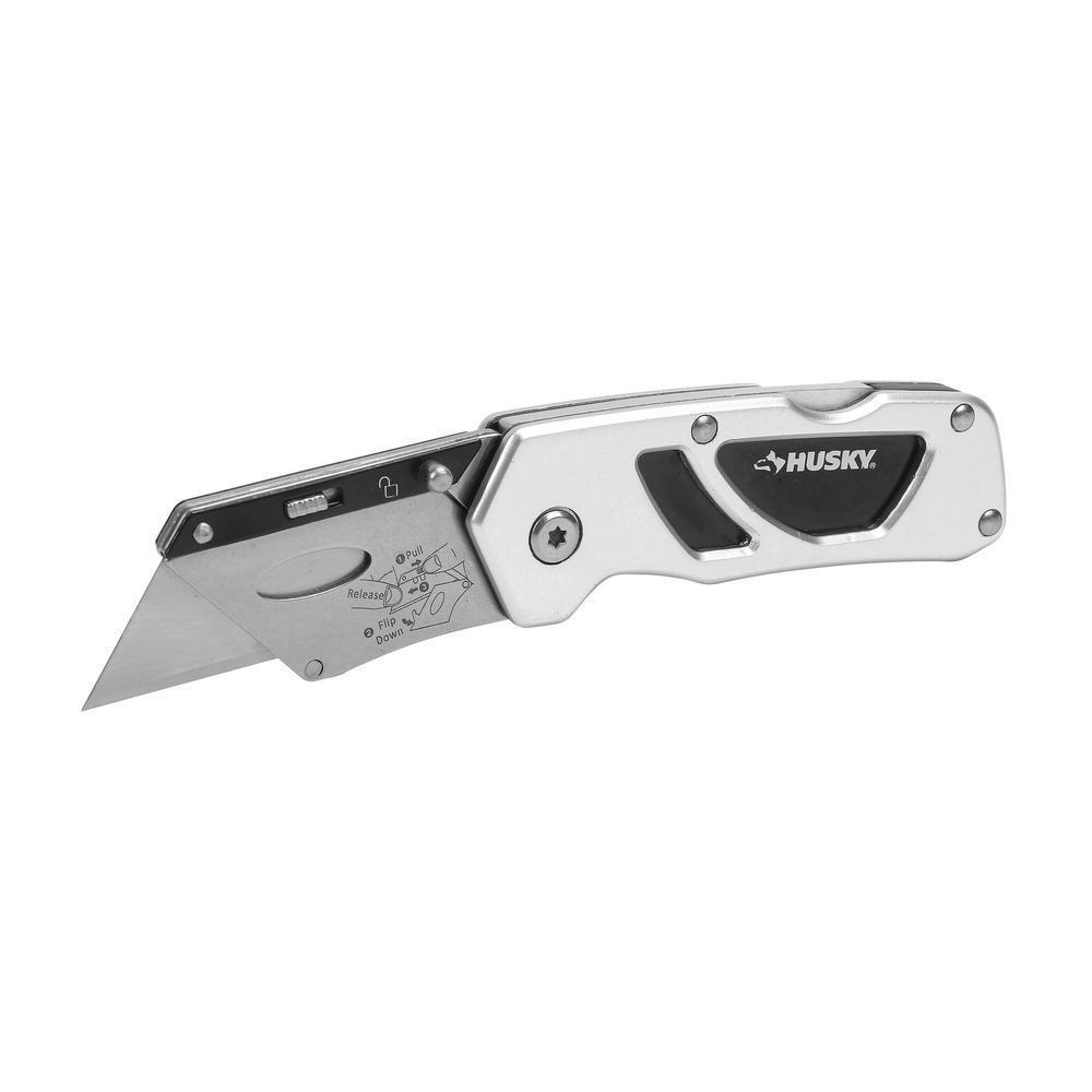 Compact Folding Lock-Back Utility Knife