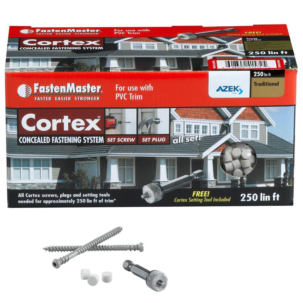 FastenMaster 2 in. x 250 lin. ft. Cortex for AZEK Trim Traditional