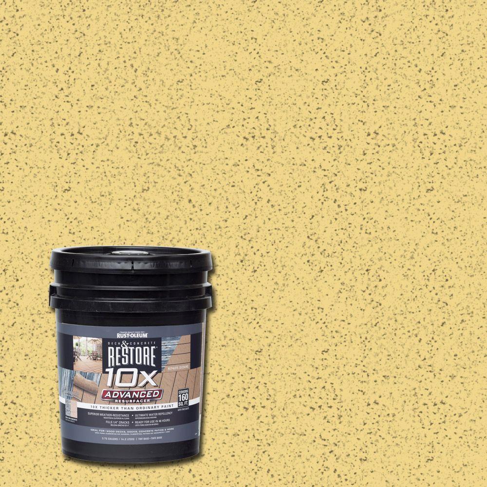 4 gal. 10X Advanced Maize Deck and Concrete Resurfacer