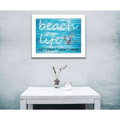 """14 in. x 18 in. """"Beach Life"""" by Cindy Jacobs, Printed Framed Wall Art"""