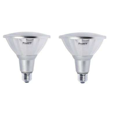 90W Equivalent Warm White PAR38 Dimmable LED Wet Rated Light Bulb (2-Pack)