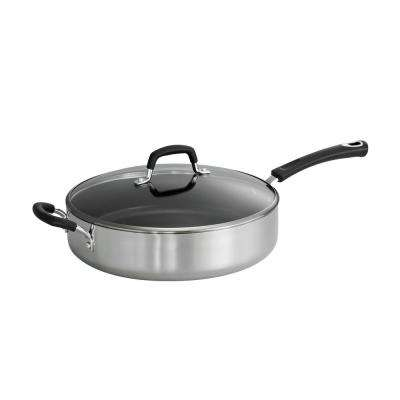 Style Polished 5.5 Qt. Covered Saute Pan