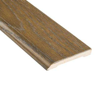 Driftwood Acacia 1/2 in. Thick x 3-1/2 in. Wide x 94 in. Length Wall Base Molding