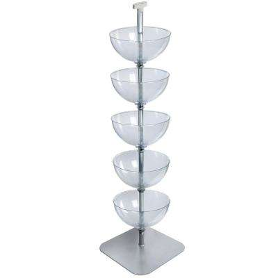 5-Tiered 14 in. Bowl Floor Display