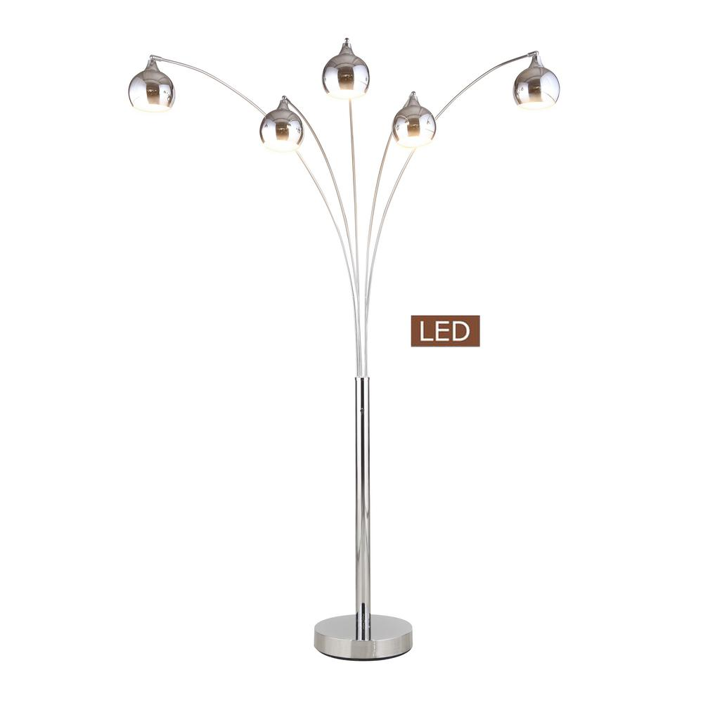 Groovy Artiva Amore 86 In Chrome Arched Floor Lamp Download Free Architecture Designs Grimeyleaguecom
