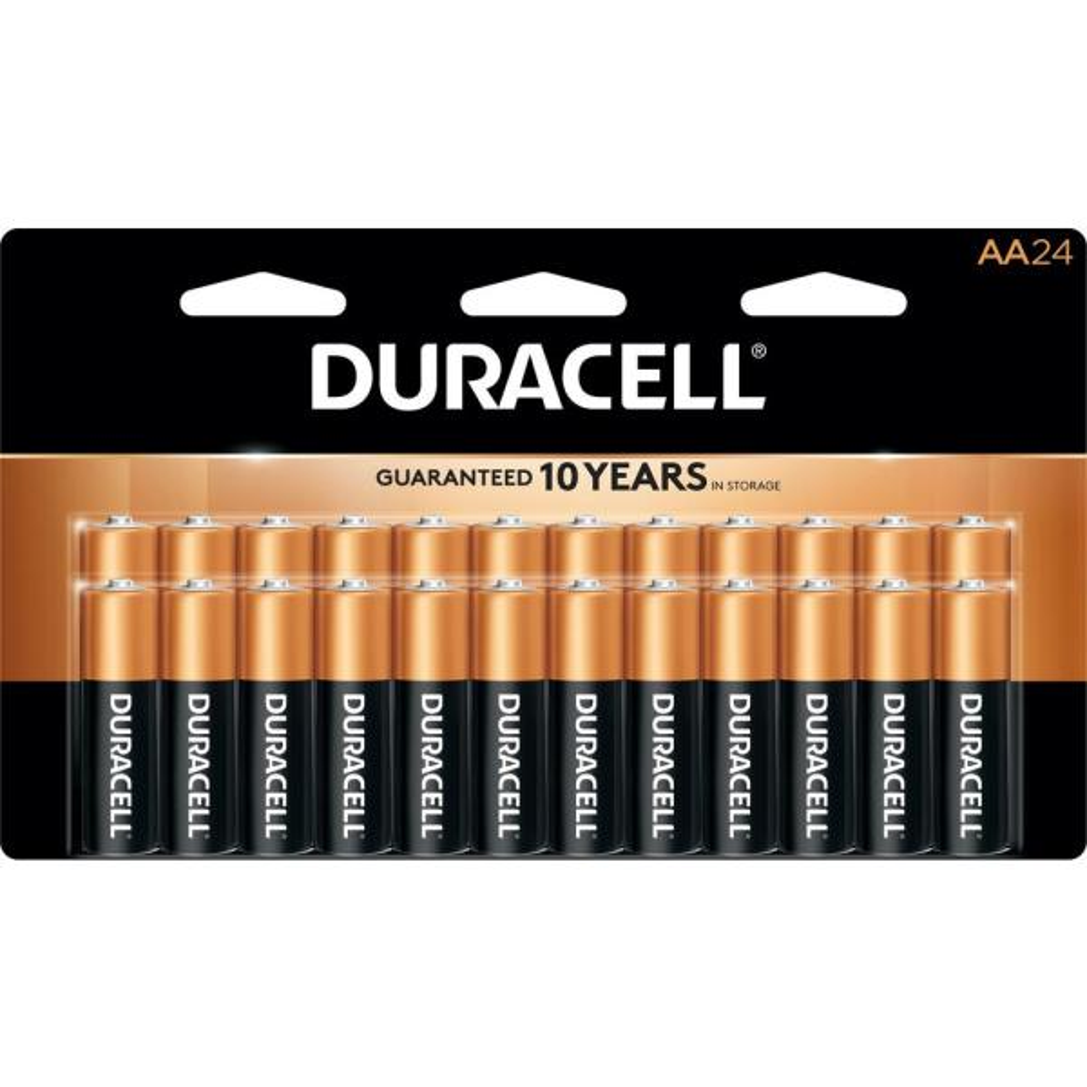 Coppertop AA Alkaline Battery (24-Pack)