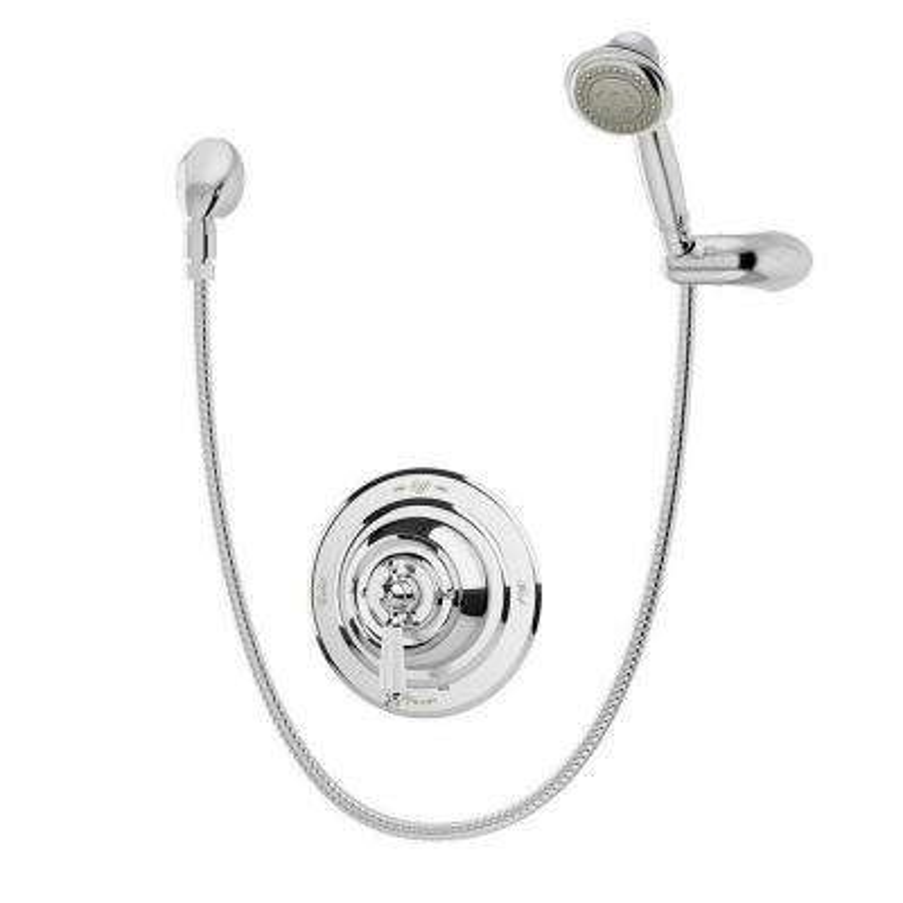 Carrington Shower with Hand Spray in Chrome (Valve Included)