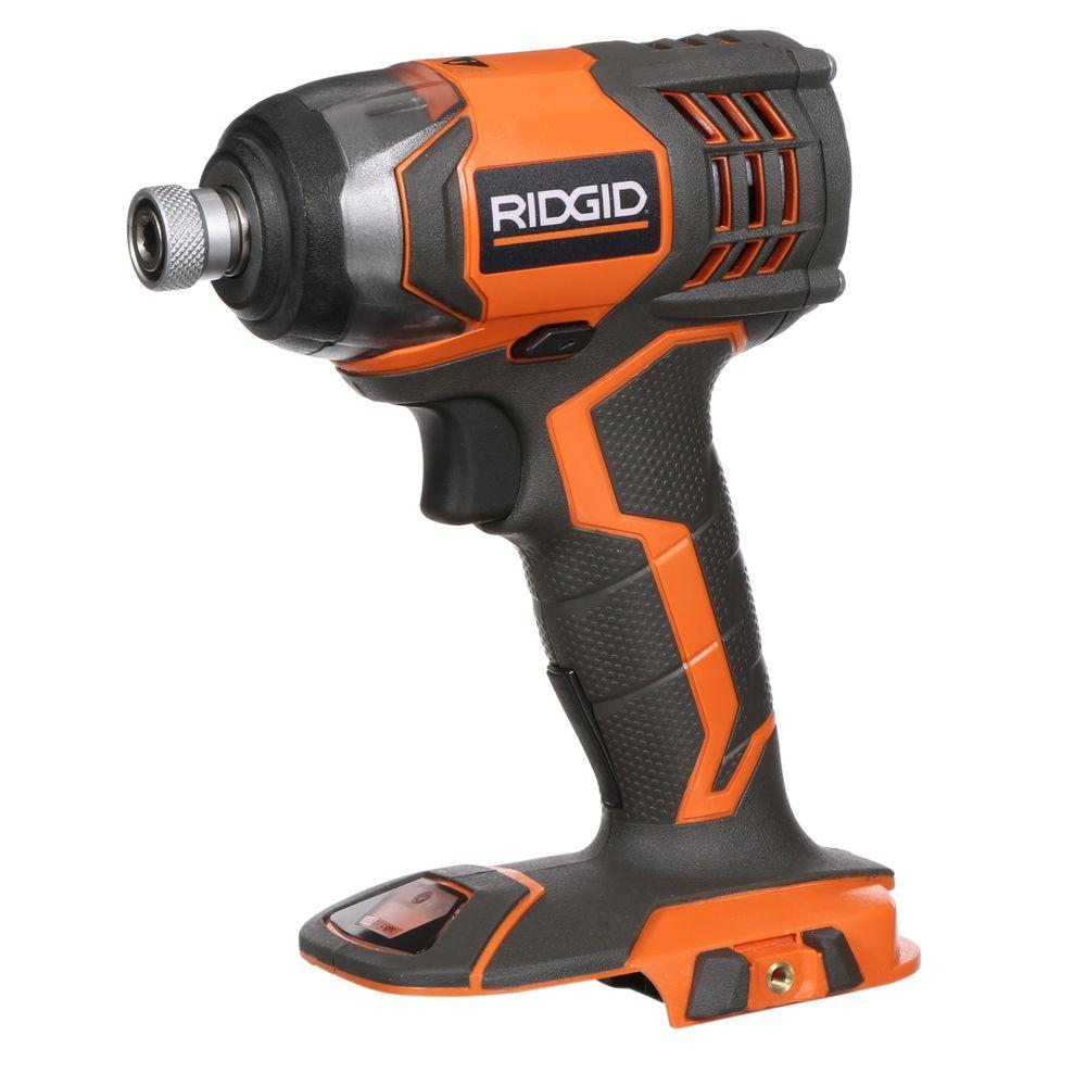 RIDGID X4 Reconditioned 18-Volt Lithium-Ion 1/4 in. Cordless Impact Driver Console (Tool Only)
