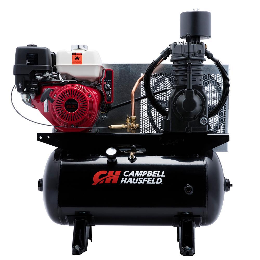 30 Gal. Portable Gas-Powered Air Compressor