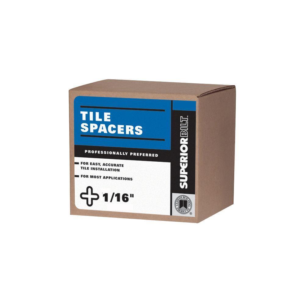 SuperiorBilt ProBilt Series 1/16 in. Regular Spacer Box (300 pack)