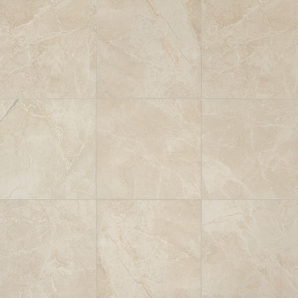 Daltile Hamilton Khaki 18 In X 18 In Ceramic Floor And