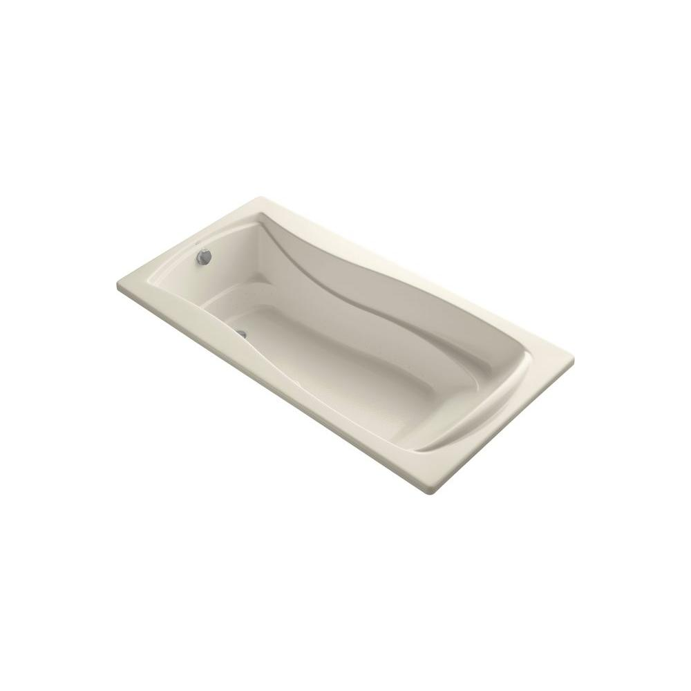 KOHLER Mariposa 6 ft. Air Bath Tub in Sandbar
