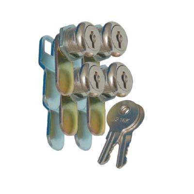 1-1/8 in. Key Cam Lock (4-Pack)