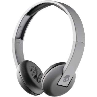 Uproar Bluetooth Over-the-Ear Headphones with Microphone Street in Gray