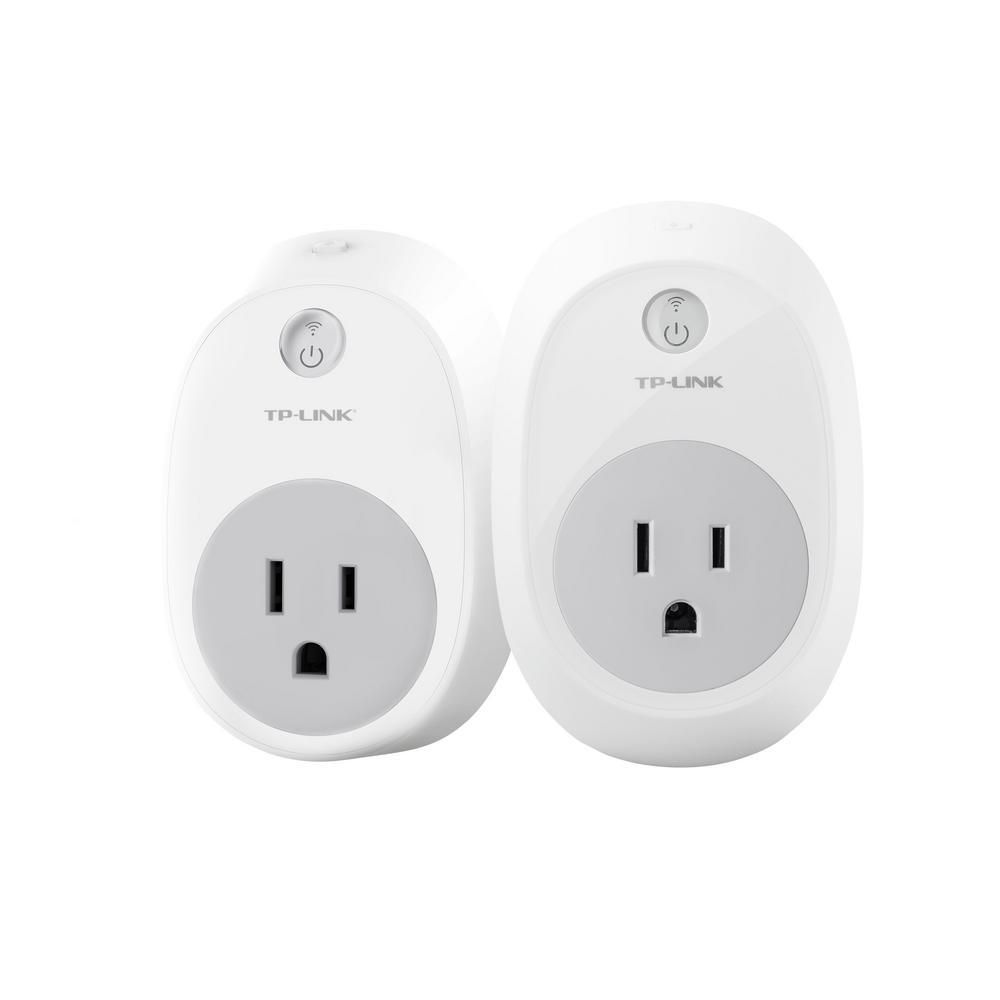 Wi-Fi Smart Plug Works with Alexa (2-Pack)