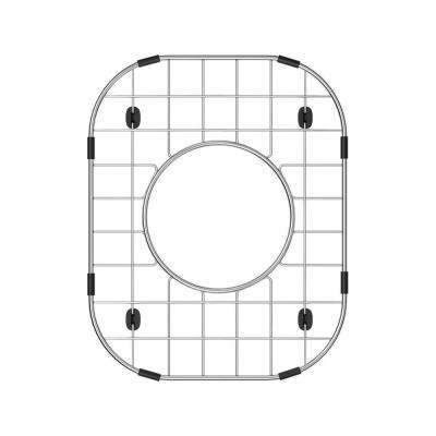 8 in. x 10 in. Sink Bottom Grid for Select Houzer Sinks in Stainless Steel