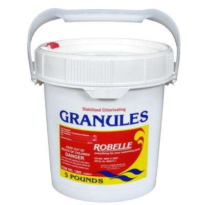 5 lb. Pool Concentrated Chlorinating Granules