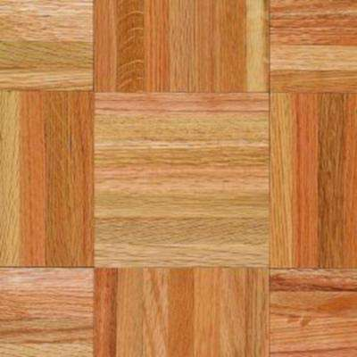 Take Home Sample - Bruce American Home Natural Oak Parquet Hardwood Flooring - 5 in. x 7 in.