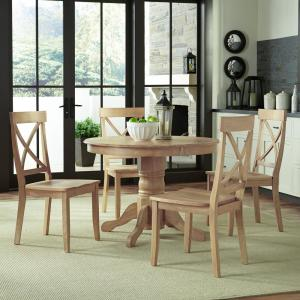 Home Styles Classic 5 Piece White Wash Dining Set