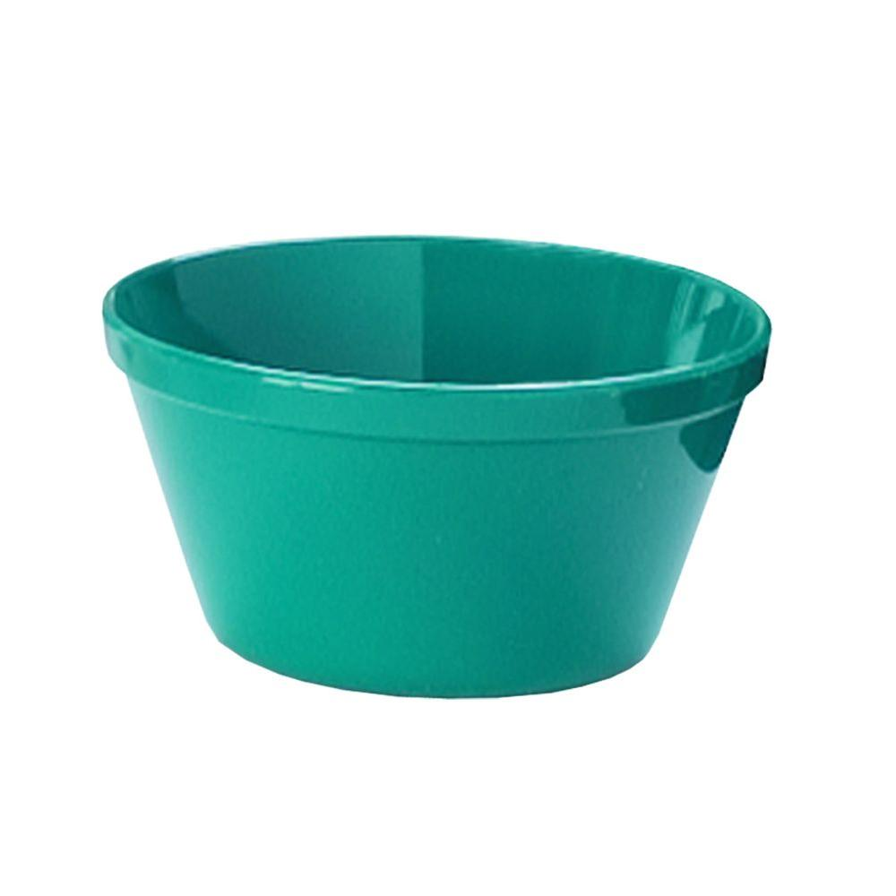 4 in. Diameter, 8.4 oz. Polycarbonate Commercial Bouillon Cup in Teal