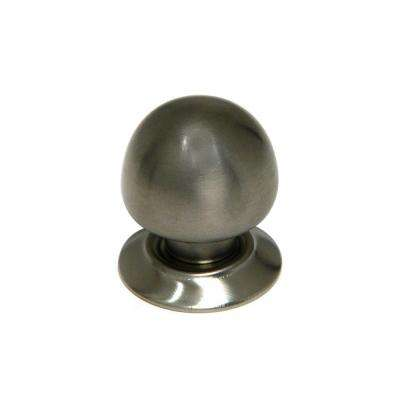 Contemporary and Modern 1-1/4 in. Brushed Nickel Cabinet Knob