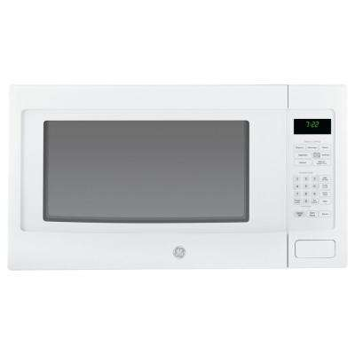 2.2 cu. ft. Countertop Microwave in White with Sensor Cooking