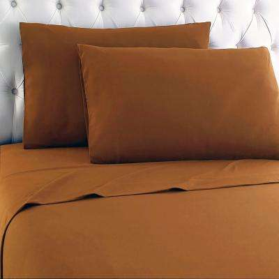 Full 4-Piece Butterscotch Sheet Set