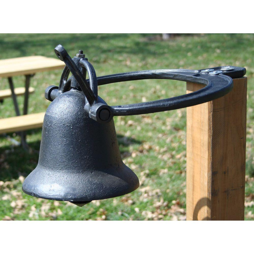 Cast Iron Black Farm Dinner Bell