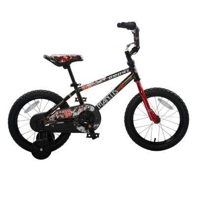 Growl Black Ready2Roll 16 in. Kids Bicycle