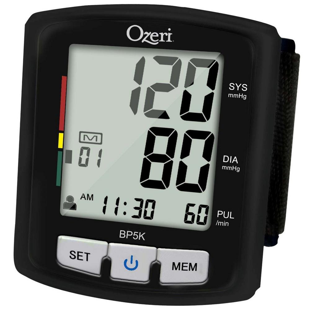 Ozeri Digital Blood Pressure Monitor with Voice-Guided Po...