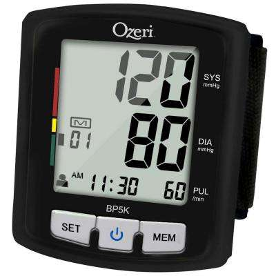 Digital Blood Pressure Monitor with Voice-Guided Positioning and Hypertension Indicator