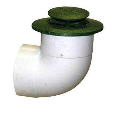 3 in. Plastic Pop-Up Drainage Emitter with Elbow