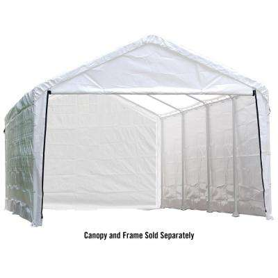 Enclosure Kit for Super Max 12 ft. x 26 ft. White Canopy (Canopy and Frame Not Included)