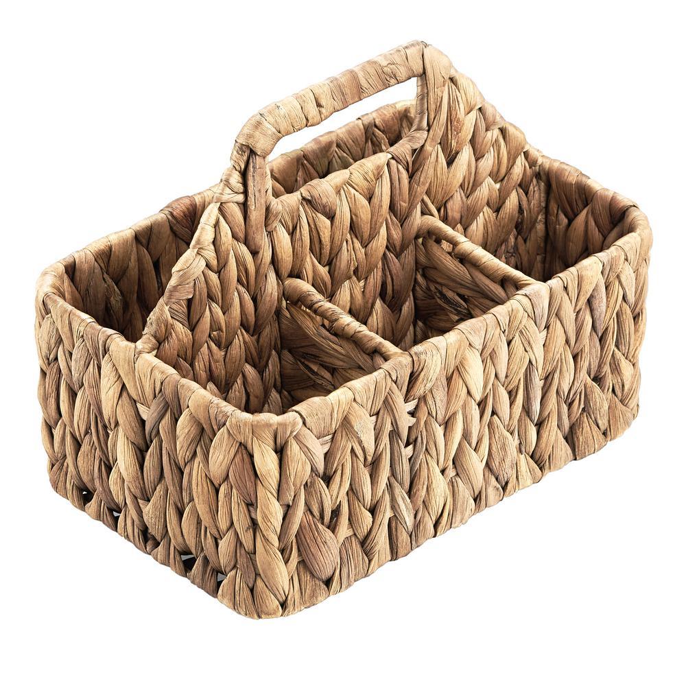 Garden Terrace Carry-All Server 9x5.5x7.5, Water Hyacinth