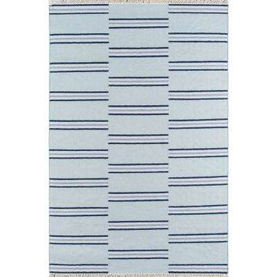 Thompson Union Light Blue 5 ft. X 7 ft. 6 in. Area Rug