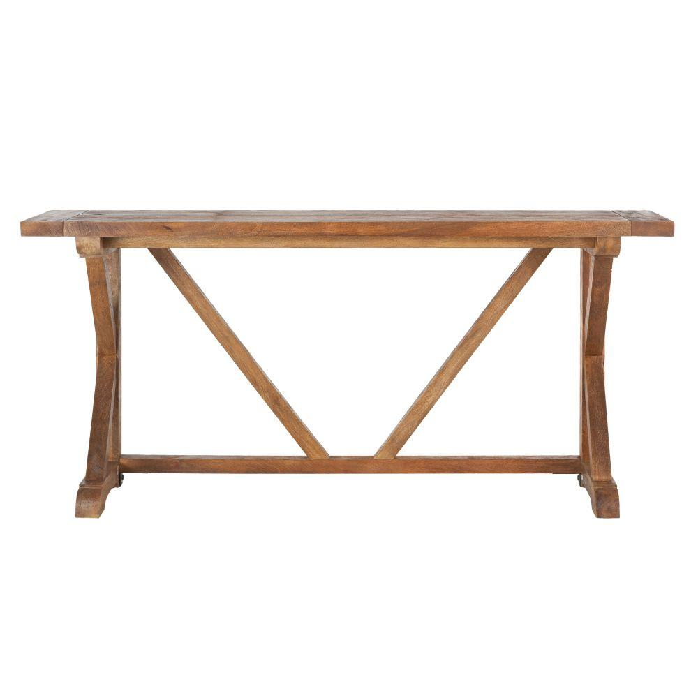 Home Decorators Collection Cane Bark Console Table-9415500860 ...
