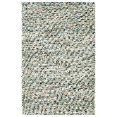 Cord Turquoise 9 ft. x 12 ft. Area Rug