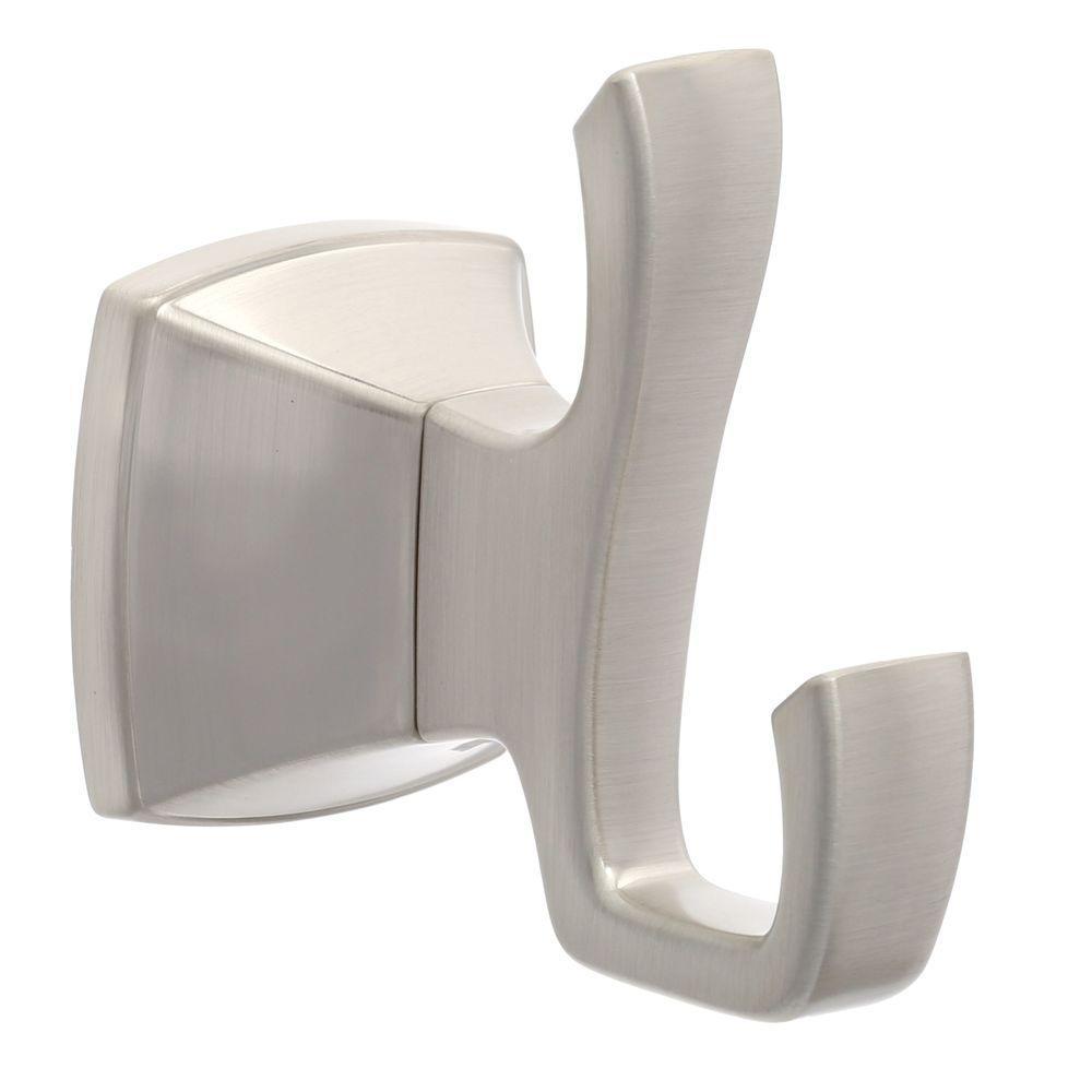 Venturi Robe Hook in Spot Defense Brushed Nickel