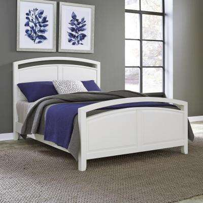 Newport White Queen Bed Frame