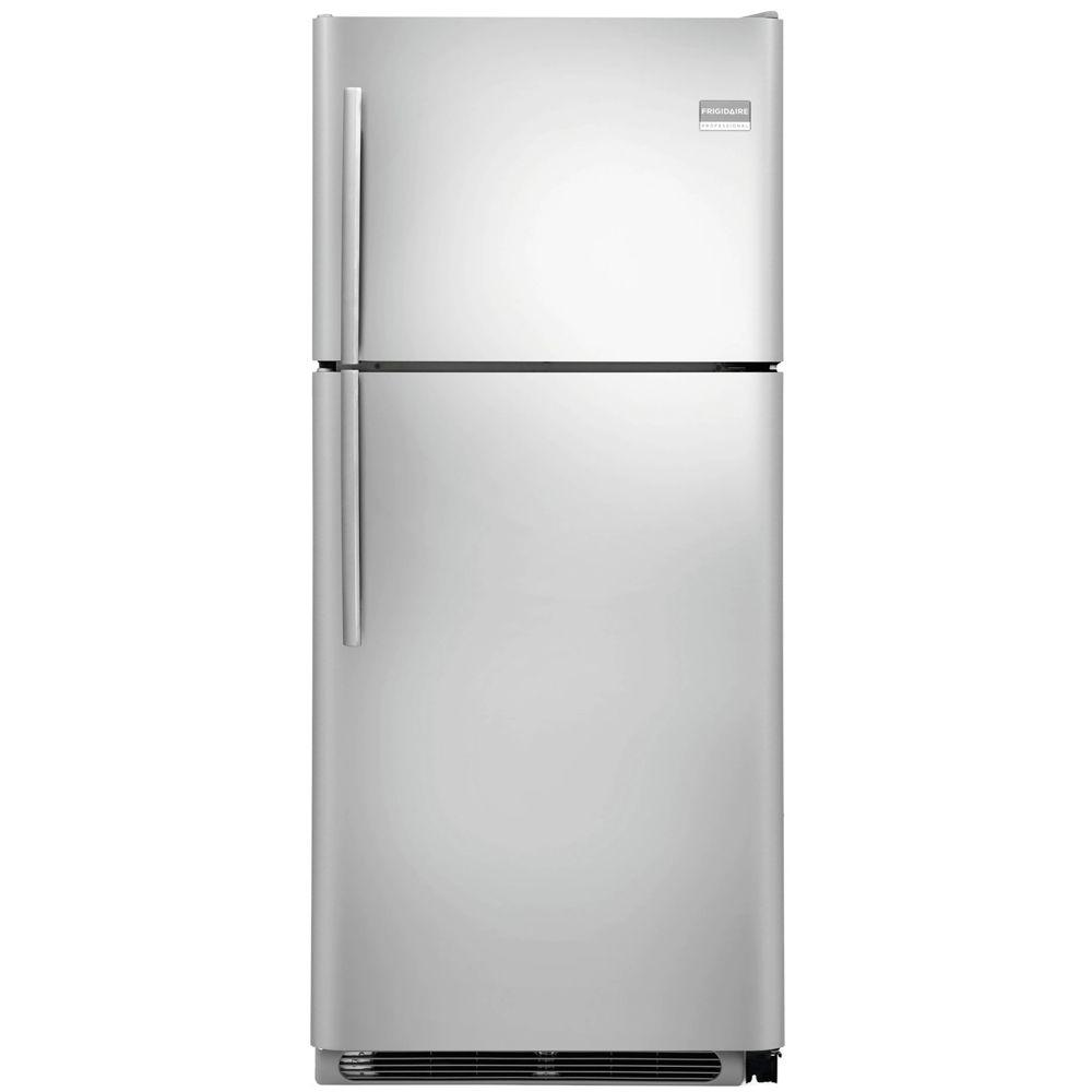 Frigidaire Professional 20.6 cu. ft. Top Freezer Refrigerator in Stainless Steel