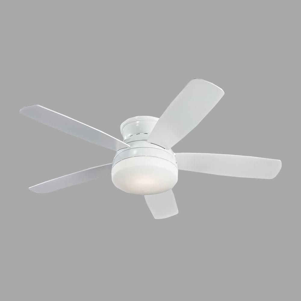 Monte Carlo Traverse 52 in. White Ceiling Fan