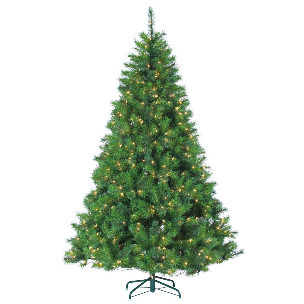 Sterling 7 5 Ft Pre Lit Mixed Needle Wisconsin Spruce