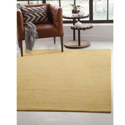 Basics Yellow 5 Ft. X 8 Ft. Area Rug