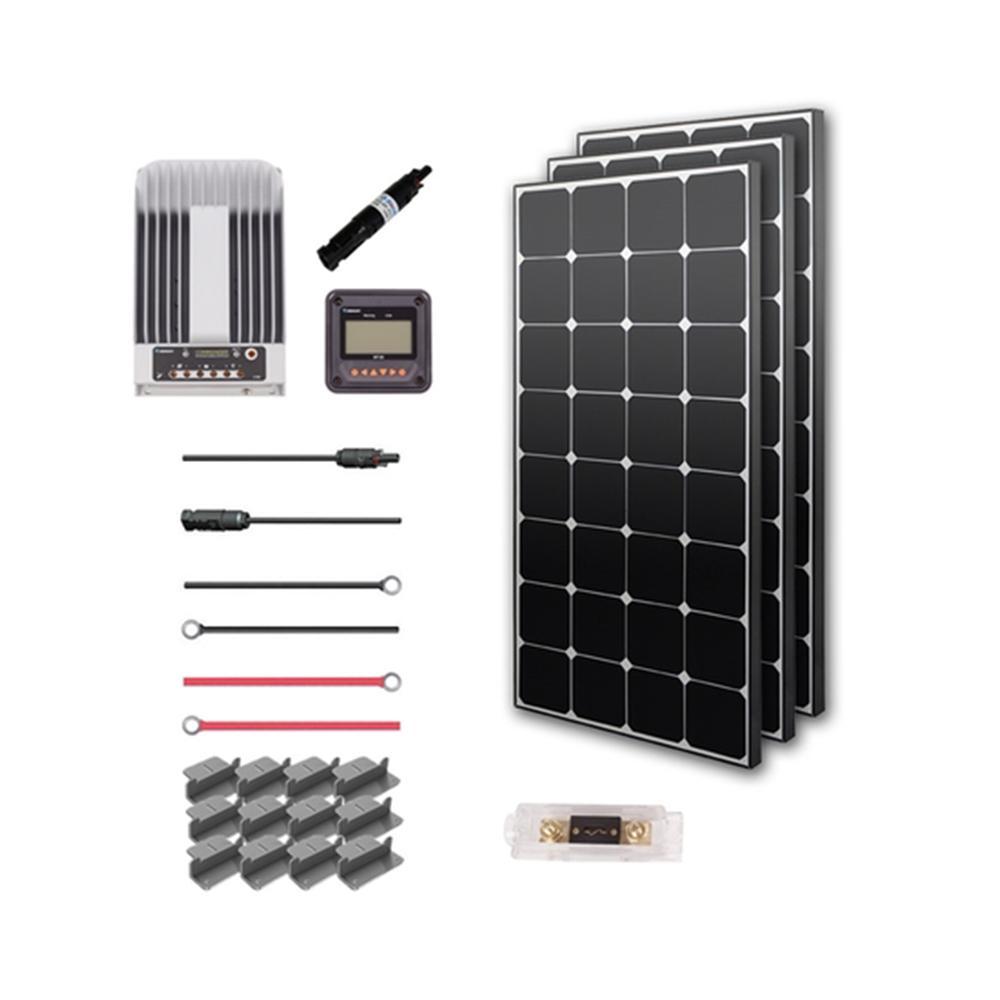300-Watt 12-Volt Eclipse Solar Premium Kit for RV, Boat and 12-Volt System