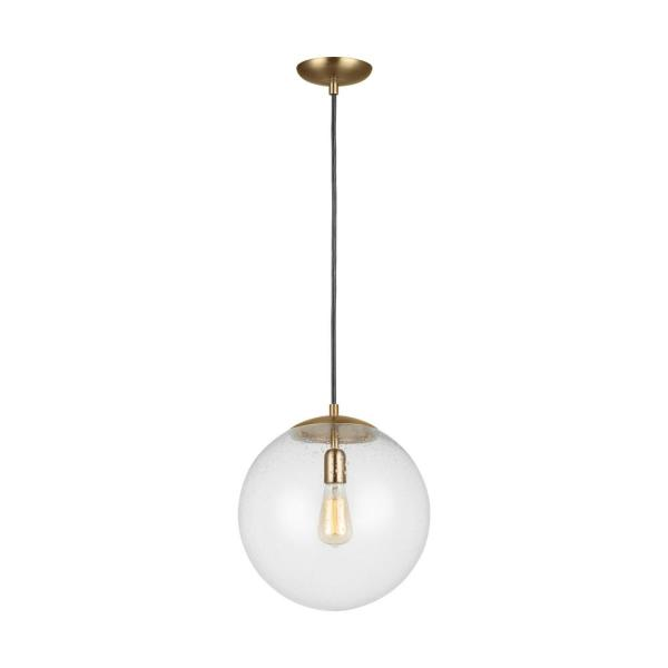 STGLIGHTING H Track Pendant Light with Globe Glass Shade Vintage Track Pendant Lighting 23.6 inches Cord Gold E26 Chandelier Dimmable for Background Wall Dining Room 3 Lights