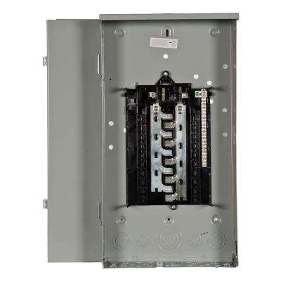 ES Series 100 Amp 20-Space 20-Circuit Main Breaker Outdoor Load Center