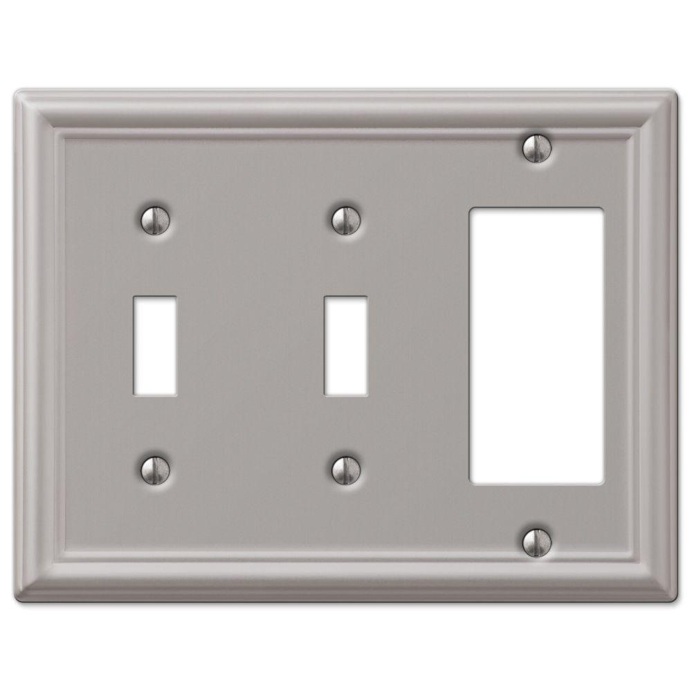 Moen Remodeling Cover Plate In Brushed Nickel 1920bn The
