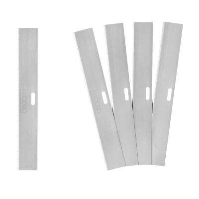 4 in. Scraper Replacement Blades (5-Pack)