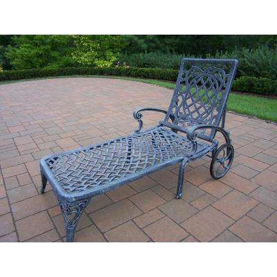 Mississippi Aluminum Outdoor Chaise Lounge